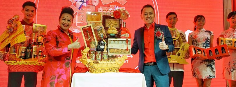 Nancy Sit Is In Malaysia to Launch New Series of CNY Hampers