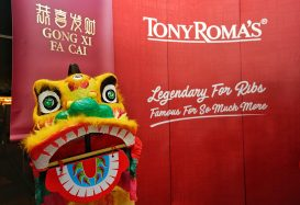 Tony Roma's Offering Yee Sang This Chinese New Year