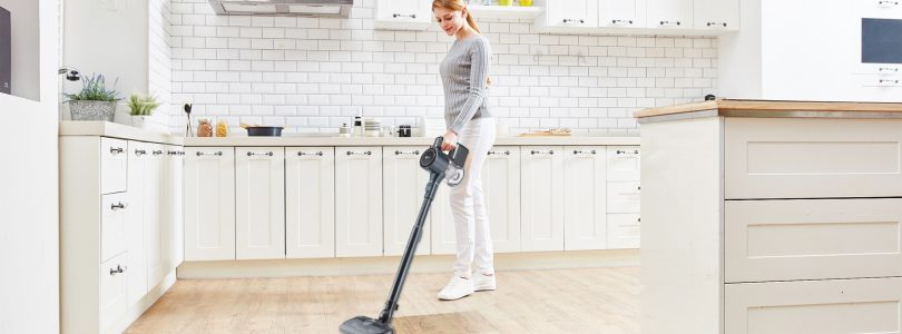 LG's New Cordzero Vacs Featuring Power Drive Mop Deliver Spotless Cleaning
