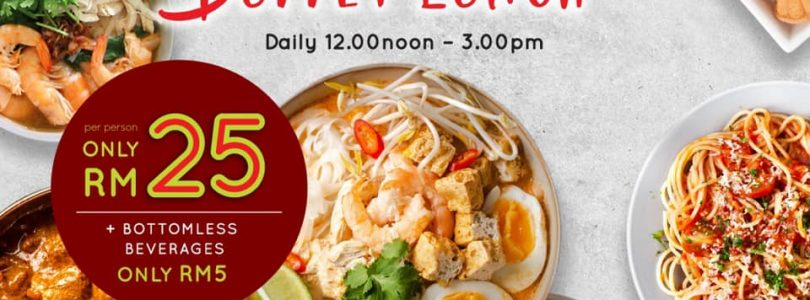 Red Sirocco Launched Eat All You Can Buffet Lunch for RM 25 Only