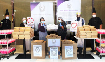 Cosmo Hotel Kuala Lumpur, a Hotel with a Heart , contributes a total 2000 packed Iftar/Supper to Hospital Sungai Buloh, Institute of Medical Research Kuala Lumpur & other needy Homes