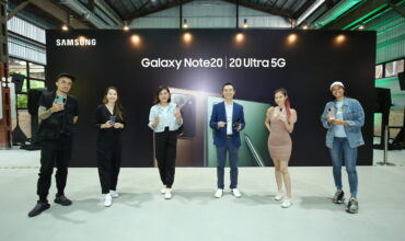 Samsung Addressing Users Behavioural Change with Galaxy Note20