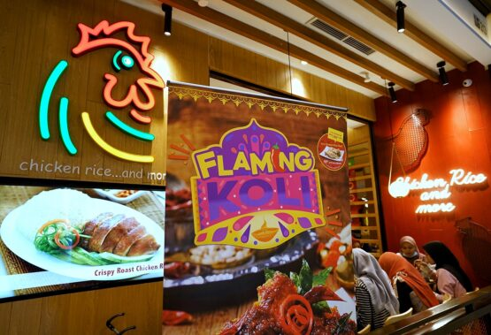 "The Chicken Rice Shop Launches ""Flaming Koli"" for This Deepavali"