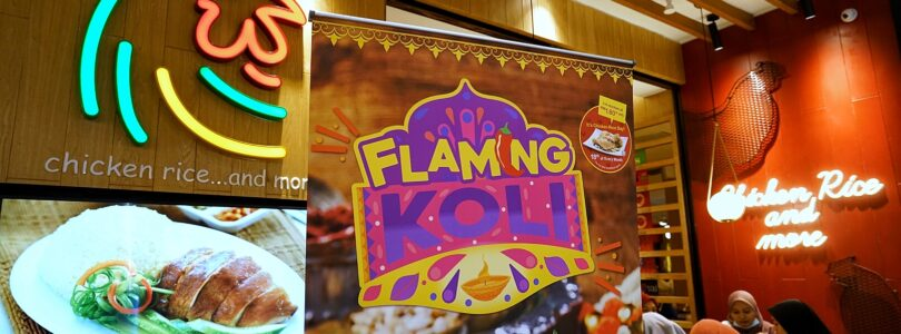 """The Chicken Rice Shop Launches """"Flaming Koli"""" for This Deepavali"""