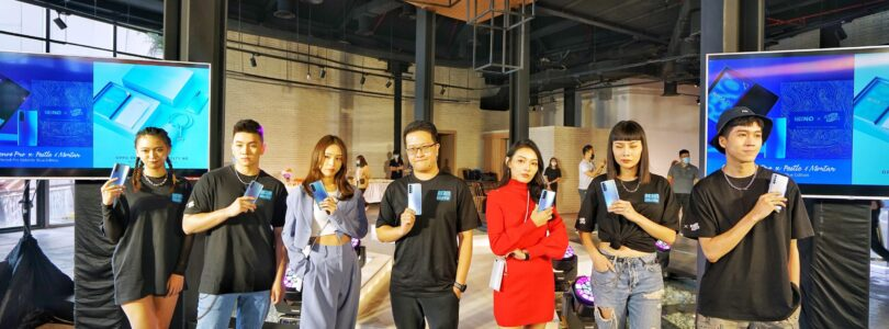 OPPO Collaborates with Christy Ng for It's New Reno4 Pro Galatic Blue