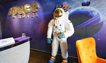 Experience a Night Stay in Space at only RM 38