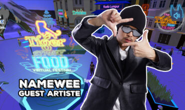 Special Performance by Namewee at Tiger Street Food Festival