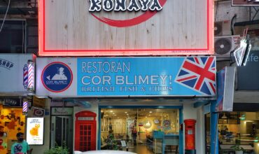 The Best British Style Fish and Chips In Town at CorBlimey