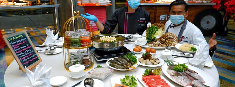 Private Hotpot Dining Experience at Aloft KL Sentral This January