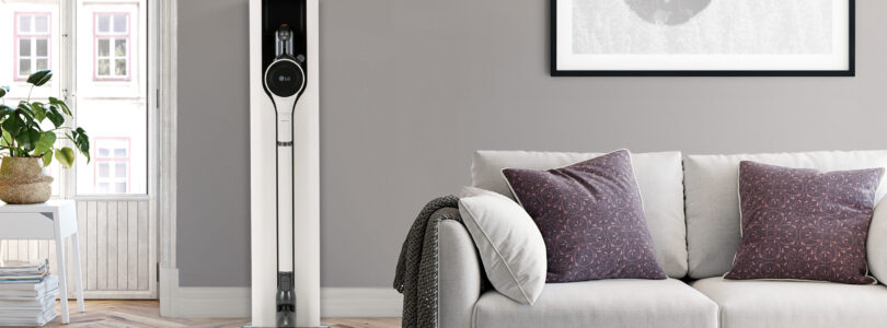 Newest LG CordZeroThinQ VAC with New Charging Station Delivers Hassle-free Cleaning Experience
