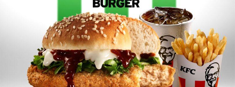 THE NEW KFC ZERO CHICKEN BURGER TASTES LIKE CHICKEN, BUT IT AIN'T CHICKEN