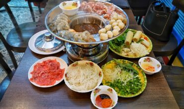 Vietnamese Hotpot at Rasa Viet