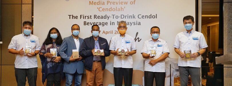 "First Ready-To-Drink Cendol Beverage in Malaysia by ""Cendolah"""