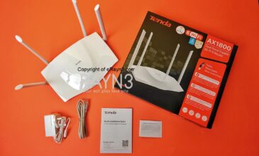 Tenda TX3 AX1800 Dual Band Gigabit WiFi 6 Router: Faster, More Stable & More Connections