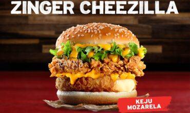 KFC ZINGER CHEEZILLA IS BACK BY MONSTROUS DEMAND!