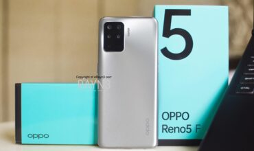 OPPO Reno5 F's New Crystal Silver Color Coming Next Week!