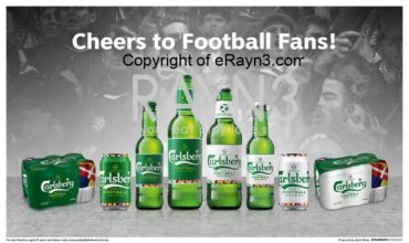 Carlsberg pays tribute to fans in limited-edition 'cheers to football' series
