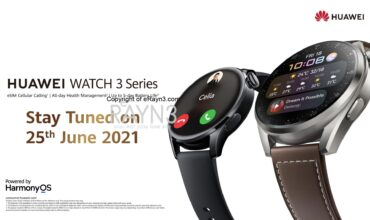 HUAWEI's Most Premium Smartwatch, Powered by HarmonyOS 2 – HUAWEI WATCH 3 Series Is Coming Soon!