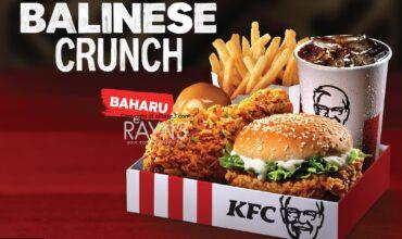 SATIATE YOUR WANDERLUST WITH KFC BALINESE CRUNCH