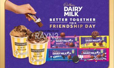 Celebrate Friendship Day with Cadbury Dairy Milk and Inside Scoop