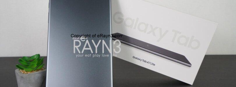 First Impression on Samsung Galaxy Tab A7 Lite