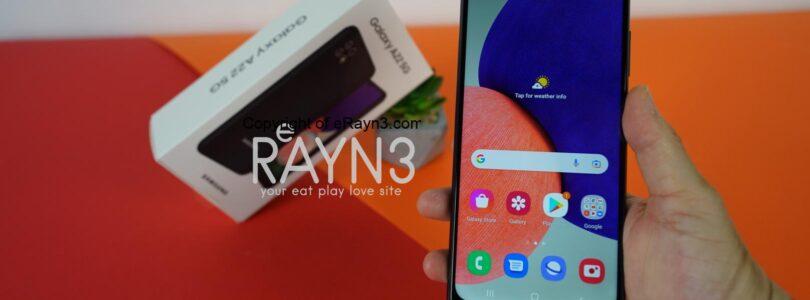Samsung Galaxy A22 5G First Impression