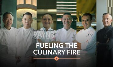 """""""FUELING THE CULINARY FIRE"""" BY MARRIOTT BONVOY EXPLORES THE CREATIVE MINDS OF SOME OF HONG KONG AND MACAU'S GREATEST CHEFS"""