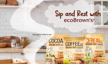 ecoBrown's introduces PLUS Series Brown Rice Drink, a 'whole' new way of wholesome living
