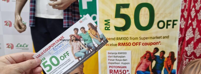 Get RM 50 OFF When You Shop at Lulu Hypermarket