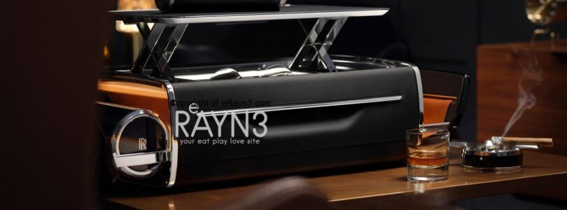 THE ROLLS-ROYCE CELLARETTE:  A BESPOKE WHISKY AND CIGAR CHEST
